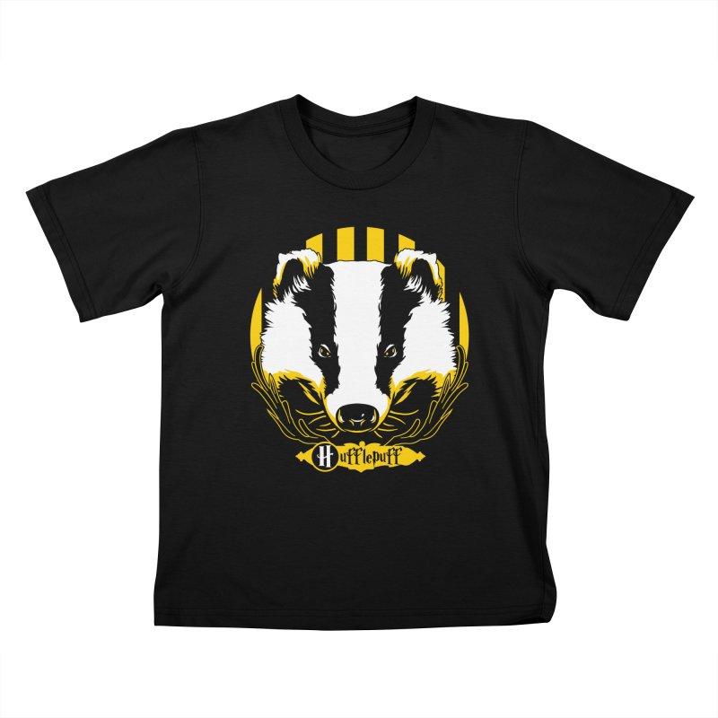 Hufflepuff Kids T-Shirt by samuelrd's Shop