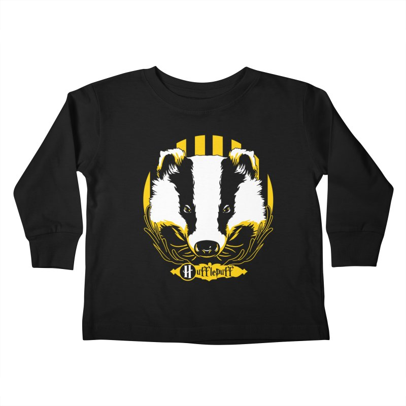Hufflepuff Kids Toddler Longsleeve T-Shirt by samuelrd's Shop