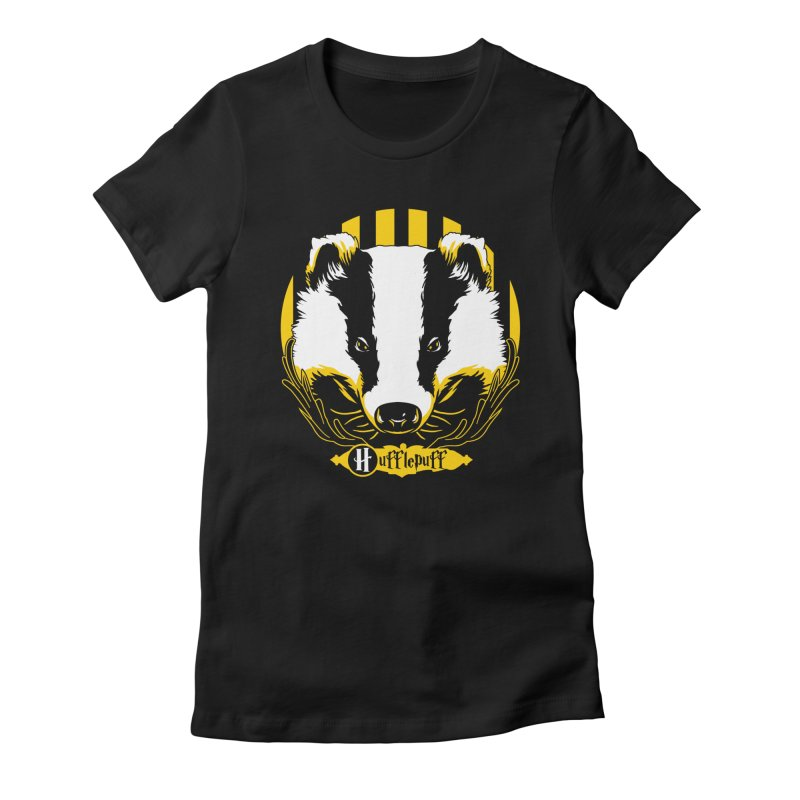 Hufflepuff Women's Fitted T-Shirt by samuelrd's Shop