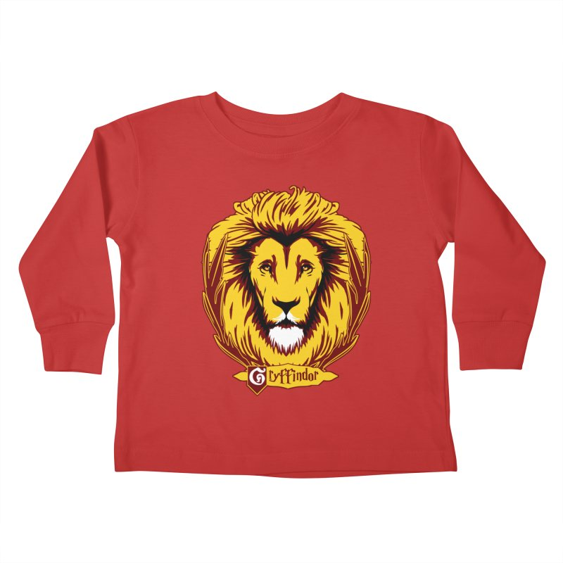 xGryffindorx Kids Toddler Longsleeve T-Shirt by samuelrd's Shop