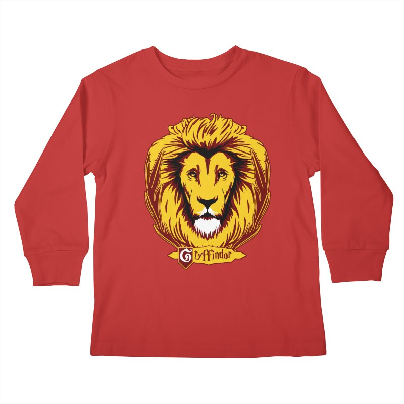 xGryffindorx Kids Longsleeve T-Shirt by samuelrd's Shop