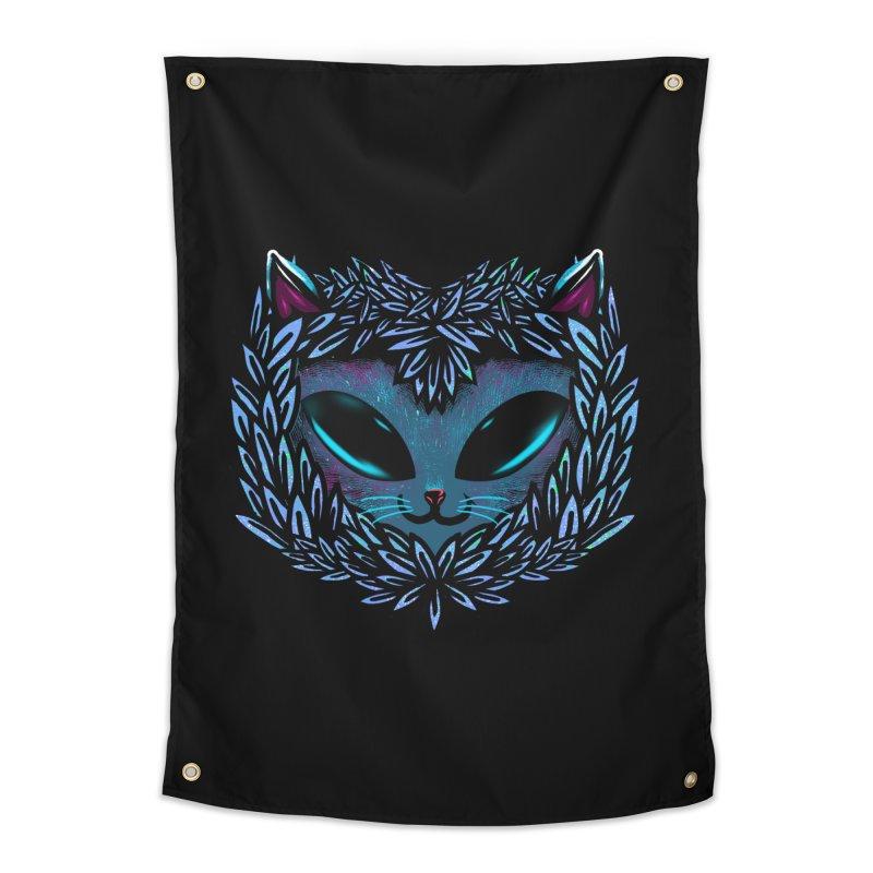 AlienCat Home Tapestry by samuelrd's Shop