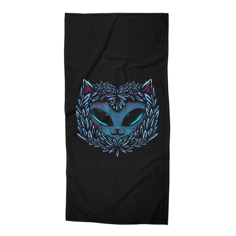AlienCat Accessories Beach Towel by samuelrd's Shop