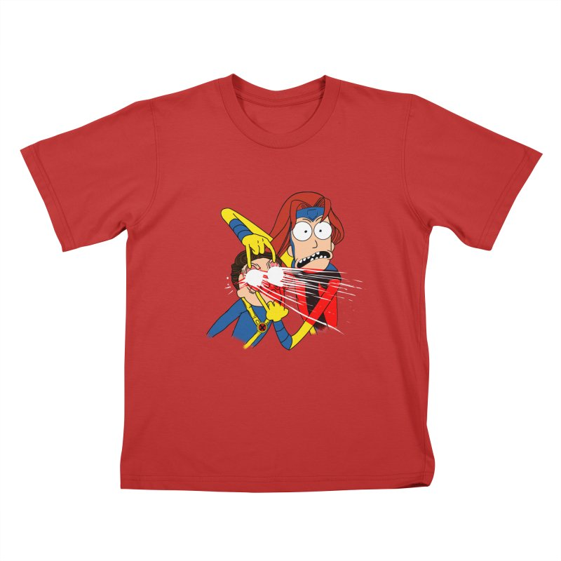 SCOOOOTT Kids T-Shirt by samuelrd's Shop