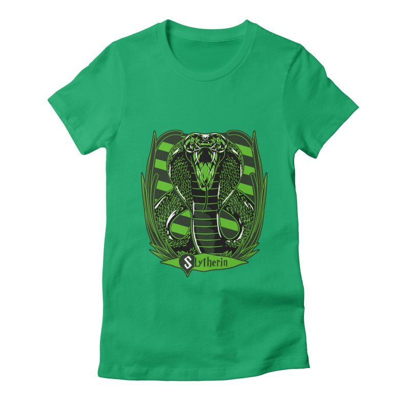 Slytherin Women's Fitted T-Shirt by samuelrd's Shop
