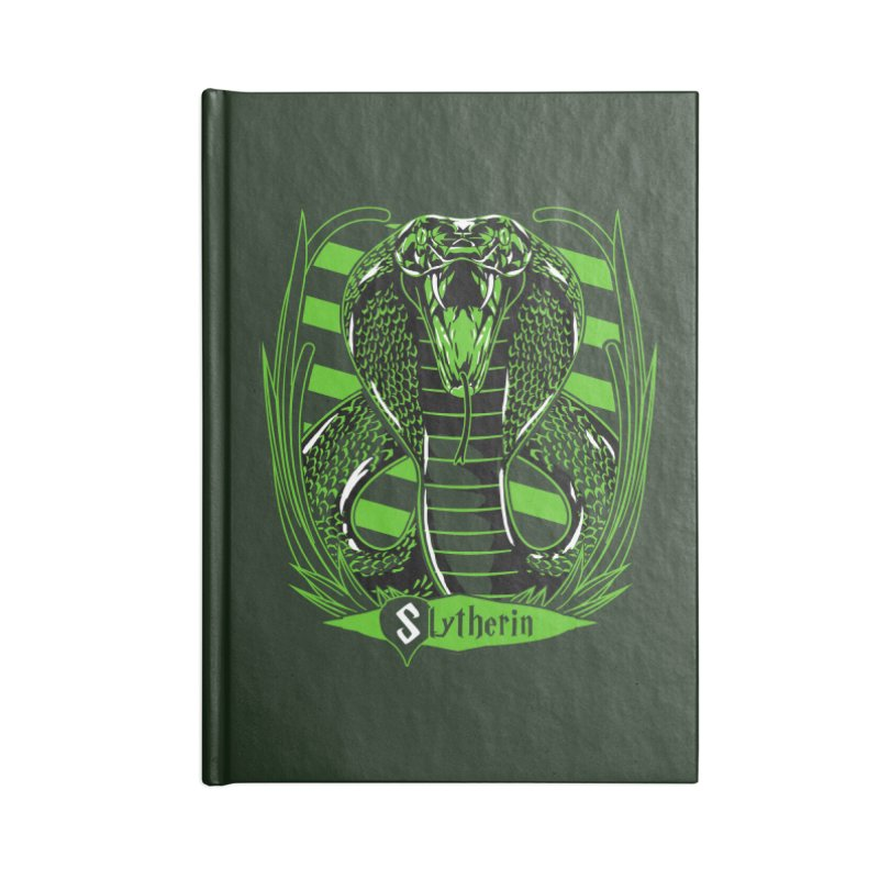 Slytherin Accessories Notebook by samuelrd's Shop