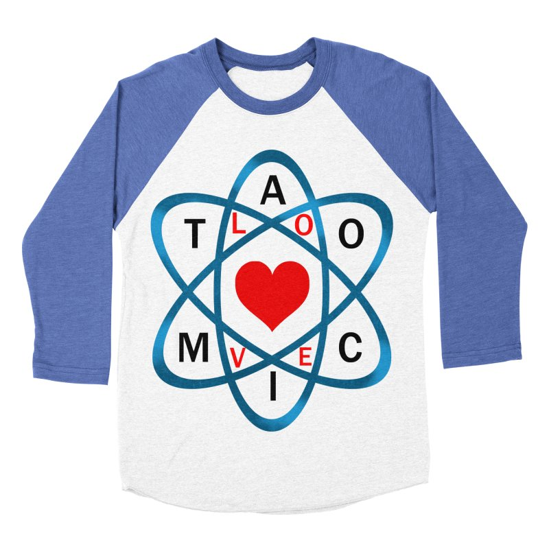 AtomicLove Men's Baseball Triblend T-Shirt by samuelrd's Shop