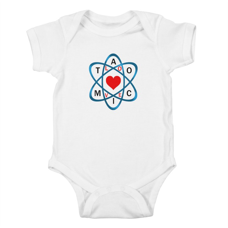 AtomicLove Kids Baby Bodysuit by samuelrd's Shop