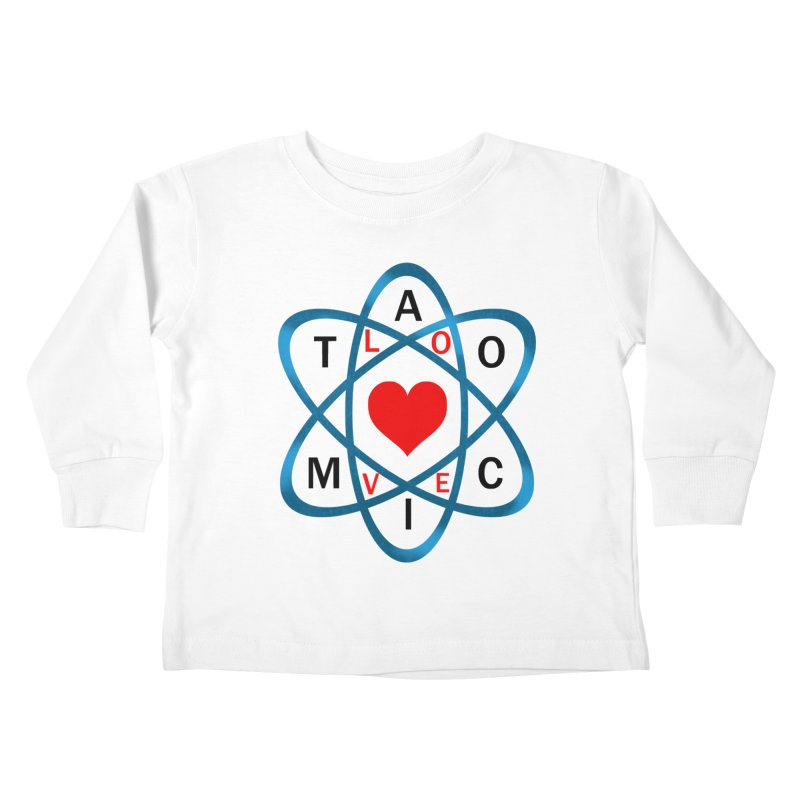 AtomicLove Kids Toddler Longsleeve T-Shirt by samuelrd's Shop