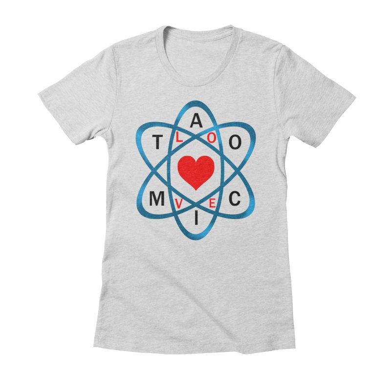 AtomicLove Women's Fitted T-Shirt by samuelrd's Shop