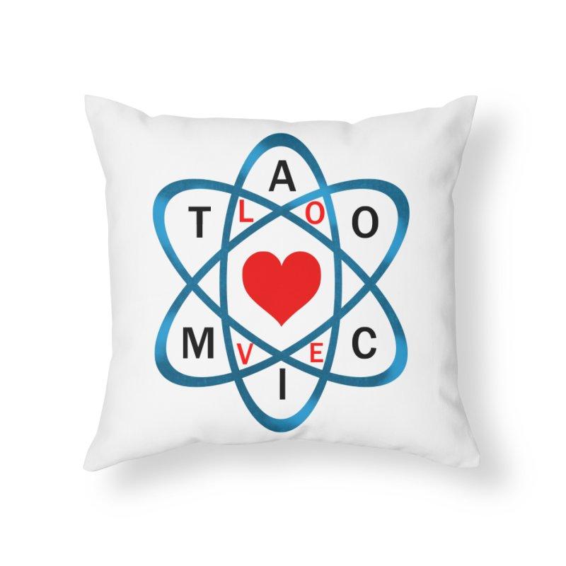 AtomicLove Home Throw Pillow by samuelrd's Shop