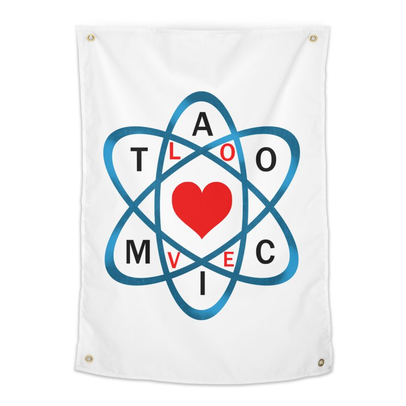 AtomicLove Home Tapestry by samuelrd's Shop