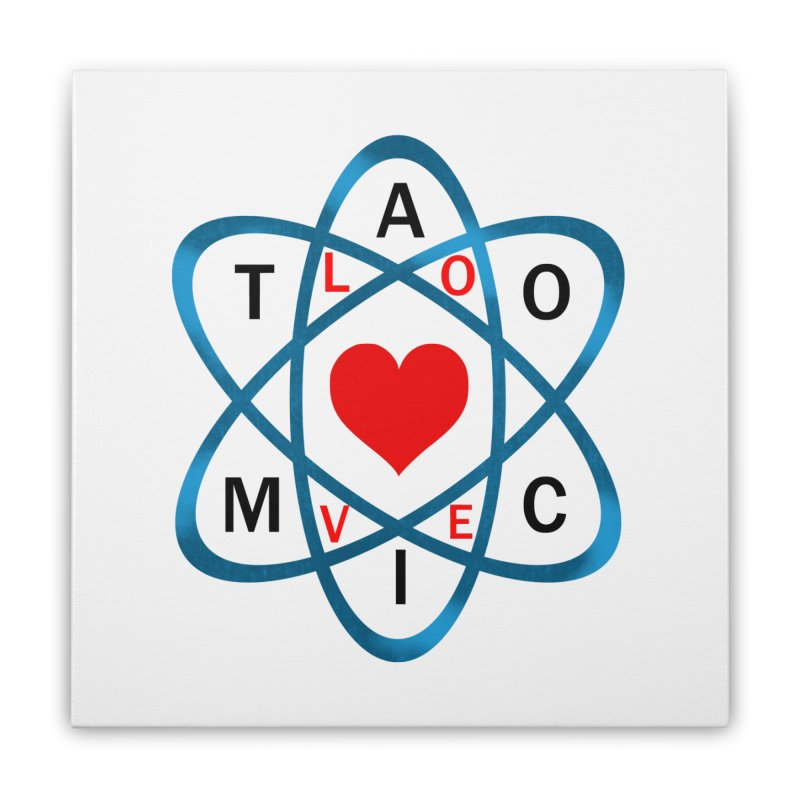 AtomicLove Home Stretched Canvas by samuelrd's Shop