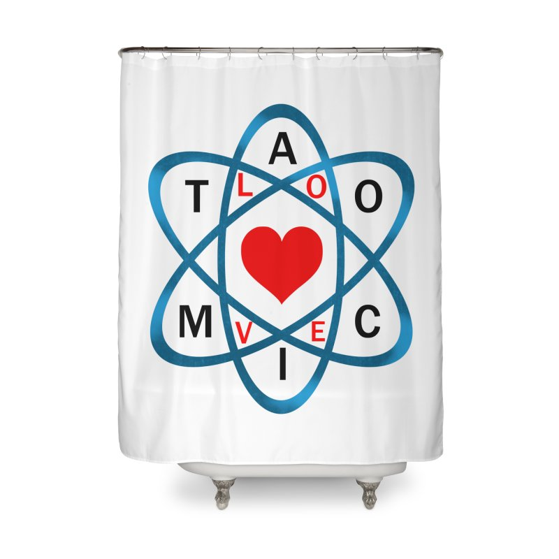 AtomicLove Home Shower Curtain by samuelrd's Shop