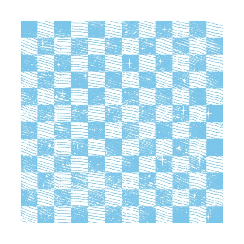 Chess Blue Pattern by samuelrd's Shop