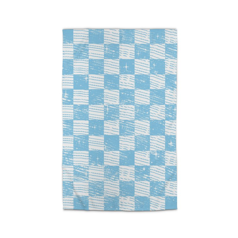 Chess Blue Pattern Home Rug by samuelrd's Shop