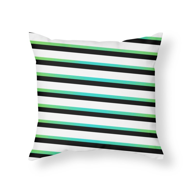 Colorful Pattern Home Throw Pillow by samuelrd's Shop