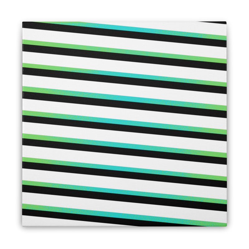 Colorful Pattern Home Stretched Canvas by samuelrd's Shop