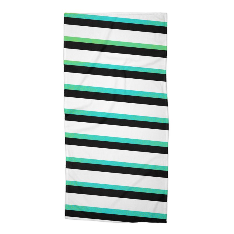 Colorful Pattern Accessories Beach Towel by samuelrd's Shop