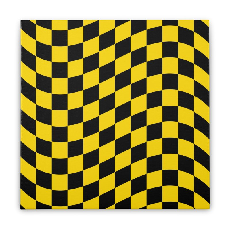 Random Chess Home Stretched Canvas by samuelrd's Shop