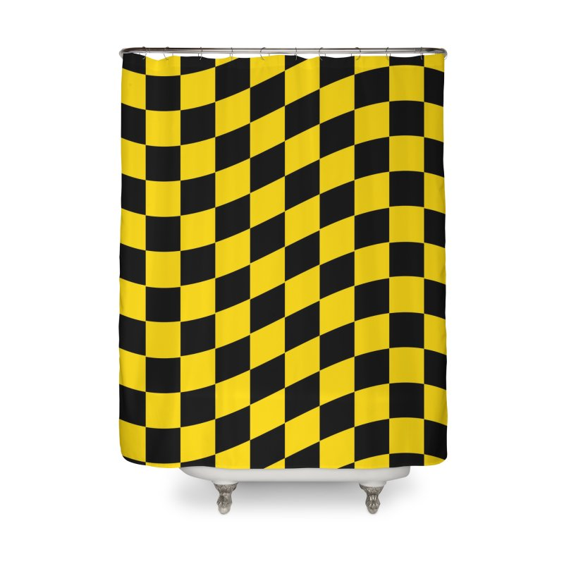 Random Chess Home Shower Curtain by samuelrd's Shop