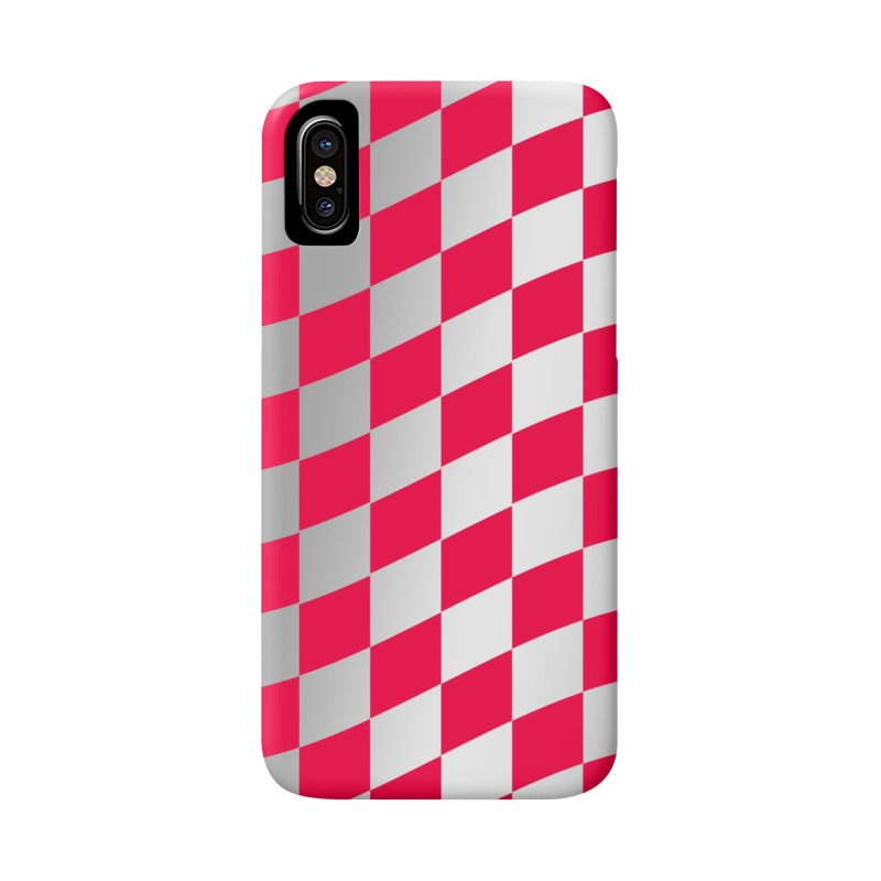 Random Pink Chess Accessories Phone Case by samuelrd's Shop