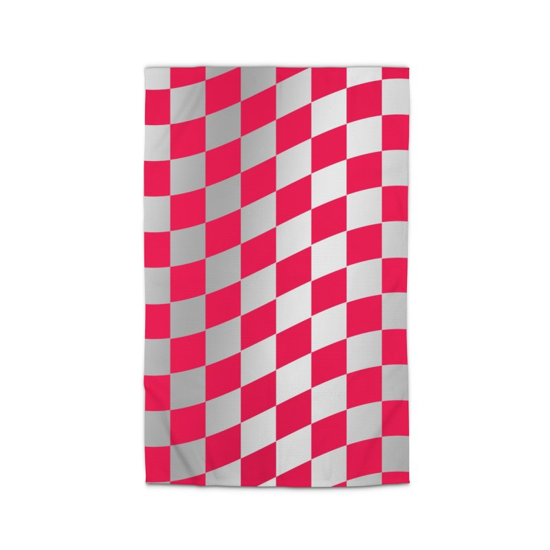 Random Pink Chess Home Rug by samuelrd's Shop