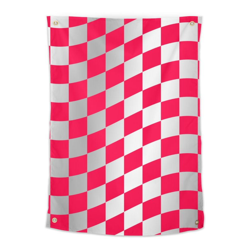 Random Pink Chess Home Tapestry by samuelrd's Shop