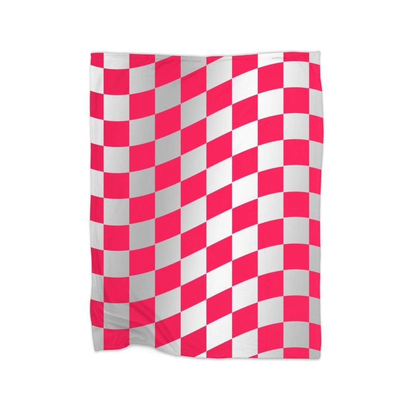 Random Pink Chess Home Blanket by samuelrd's Shop