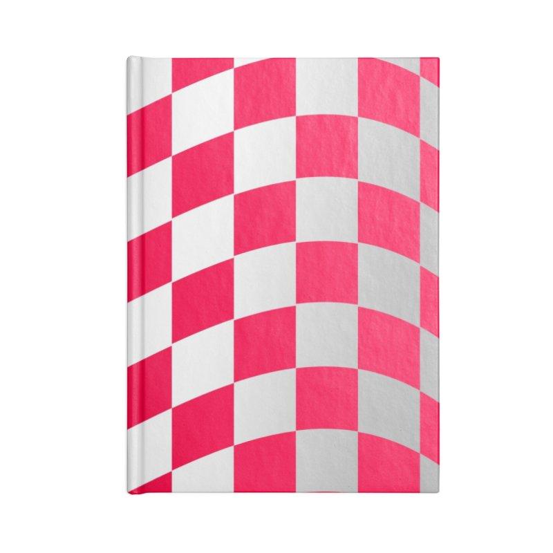 Random Pink Chess Accessories Notebook by samuelrd's Shop