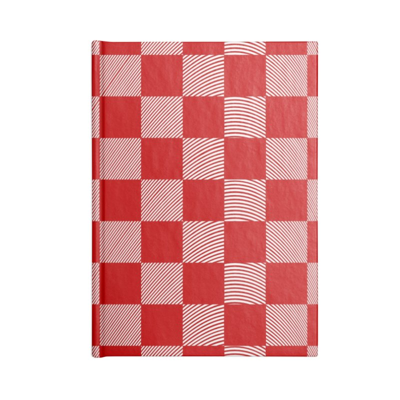 Random Red Chess Accessories Notebook by samuelrd's Shop