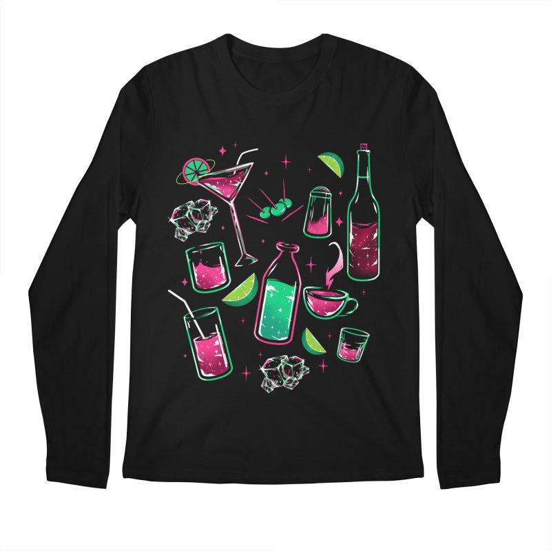 Drinks Men's Longsleeve T-Shirt by samuelrd's Shop