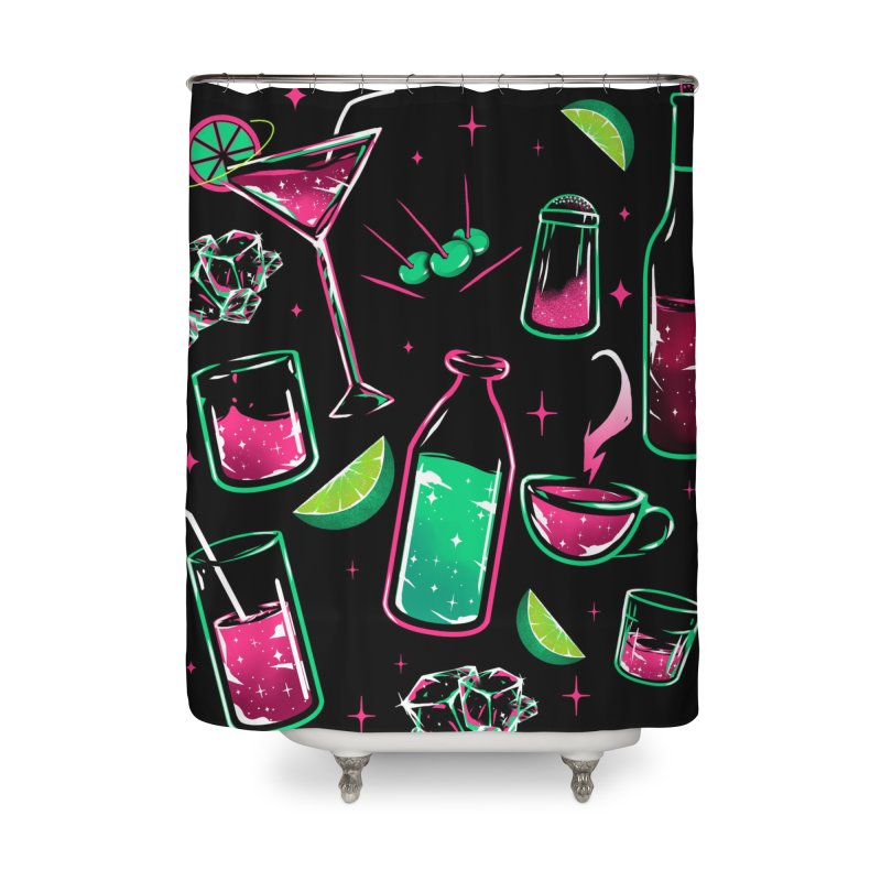 Drinks Home Shower Curtain by samuelrd's Shop