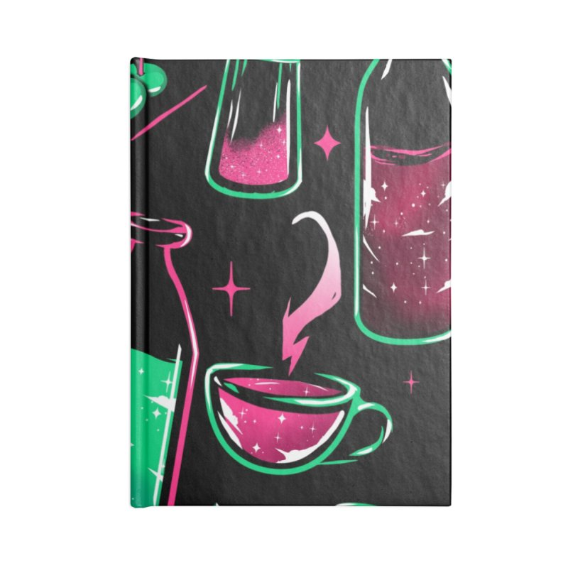 Drinks Accessories Notebook by samuelrd's Shop