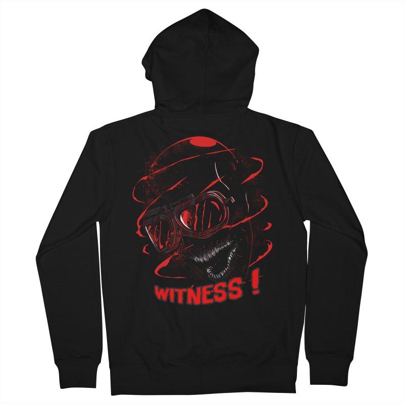 Witness ! Men's Zip-Up Hoody by samuelrd's Shop