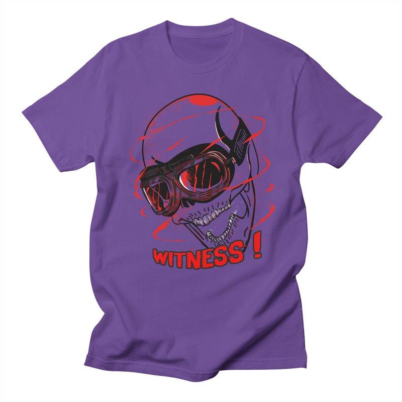 Witness ! Men's T-shirt by samuelrd's Shop