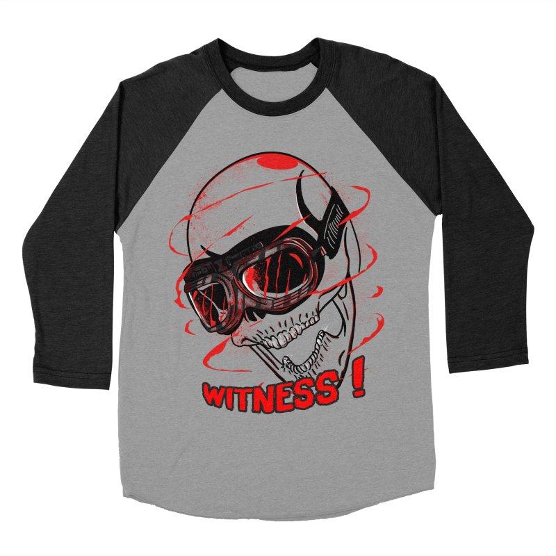 Witness ! Women's Baseball Triblend T-Shirt by samuelrd's Shop