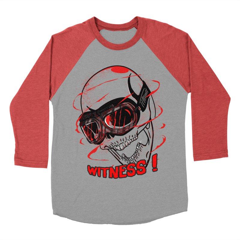 Witness ! Men's Baseball Triblend T-Shirt by samuelrd's Shop