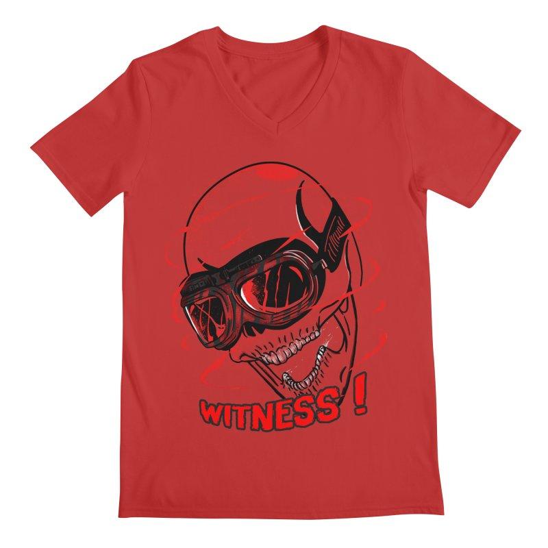 Witness ! Men's V-Neck by samuelrd's Shop