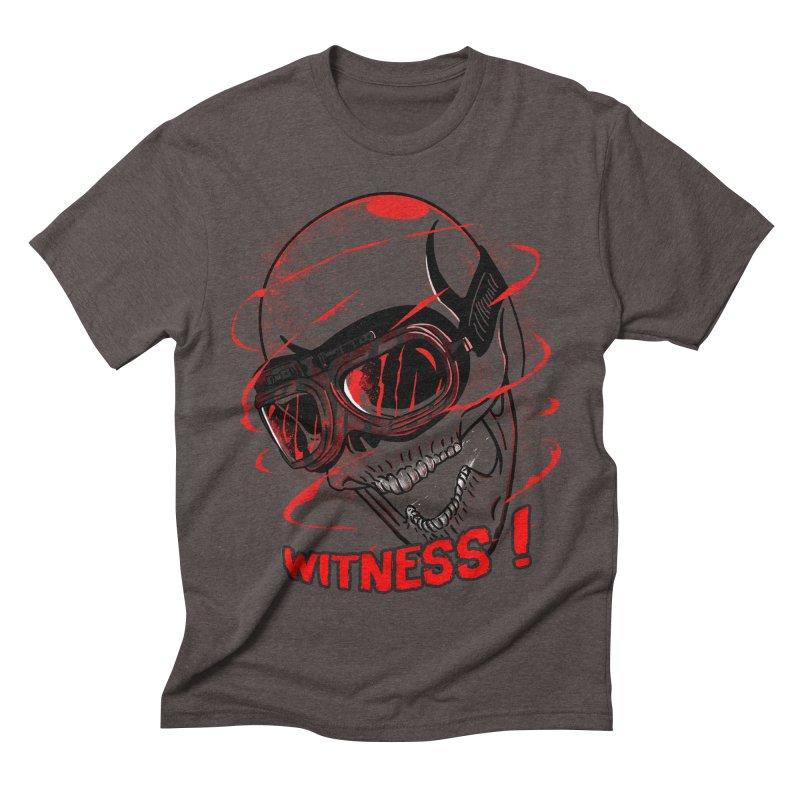 Witness ! Men's Triblend T-shirt by samuelrd's Shop