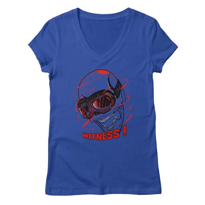 Witness ! Women's V-Neck by samuelrd's Shop