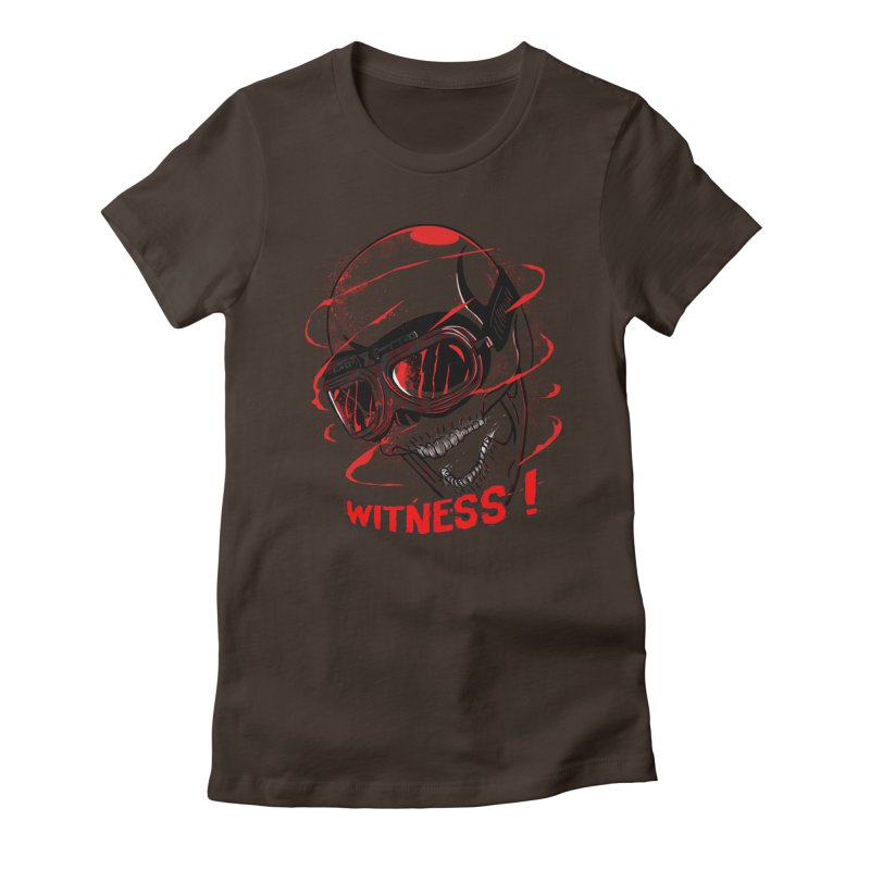 Witness ! Women's Fitted T-Shirt by samuelrd's Shop