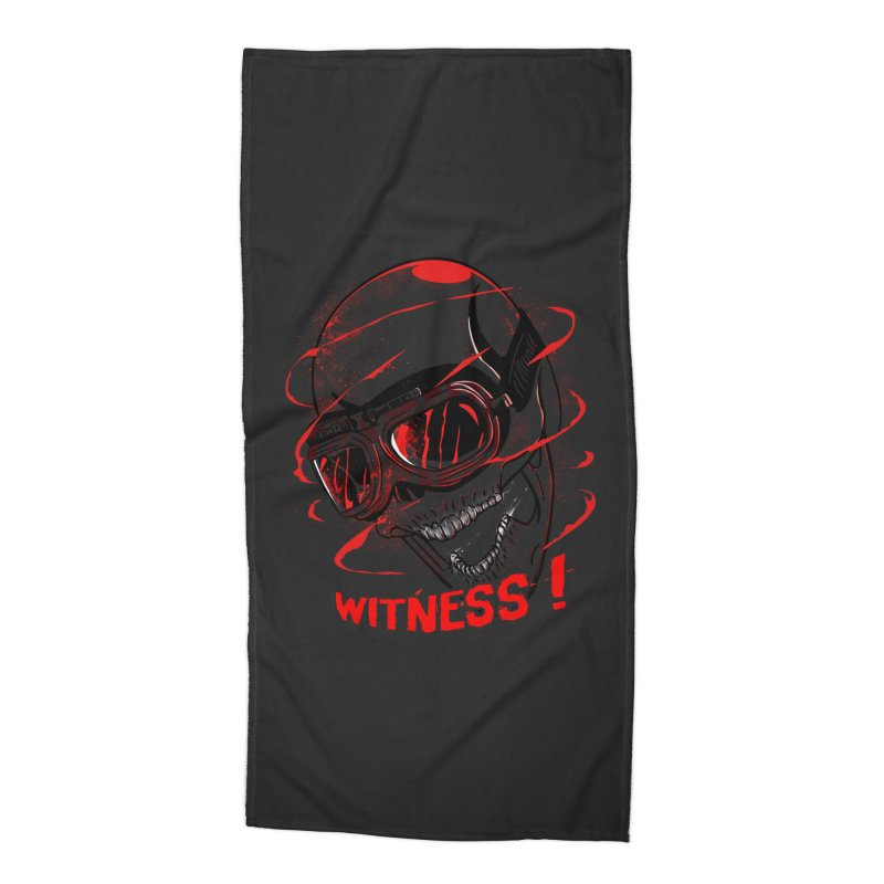 Witness ! Accessories Beach Towel by samuelrd's Shop