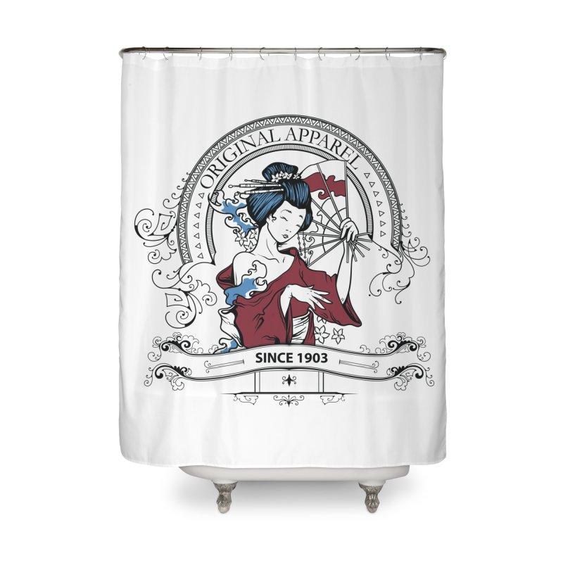 Geisha Since 1903 Splash Home Shower Curtain