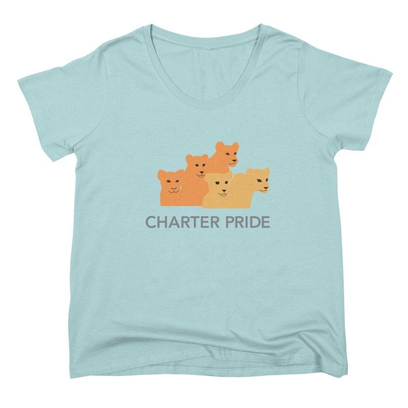 Charter Pride Women's Scoop Neck by San Carlos Charter Spirit Store