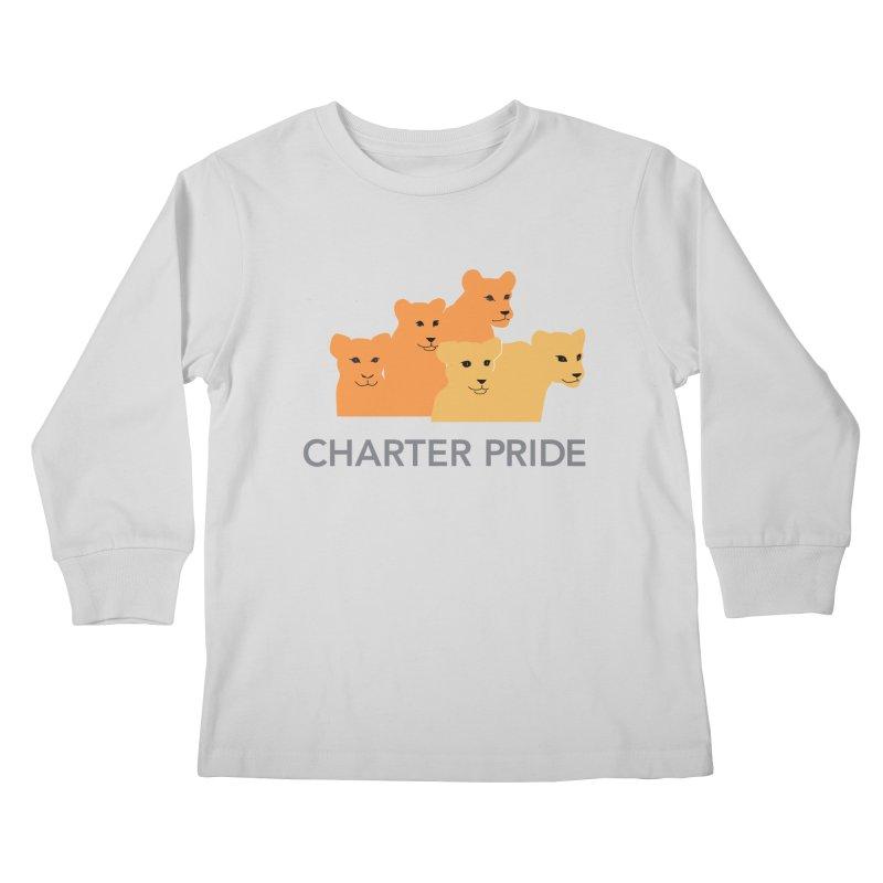 Charter Pride Kids Longsleeve T-Shirt by San Carlos Charter Spirit Store