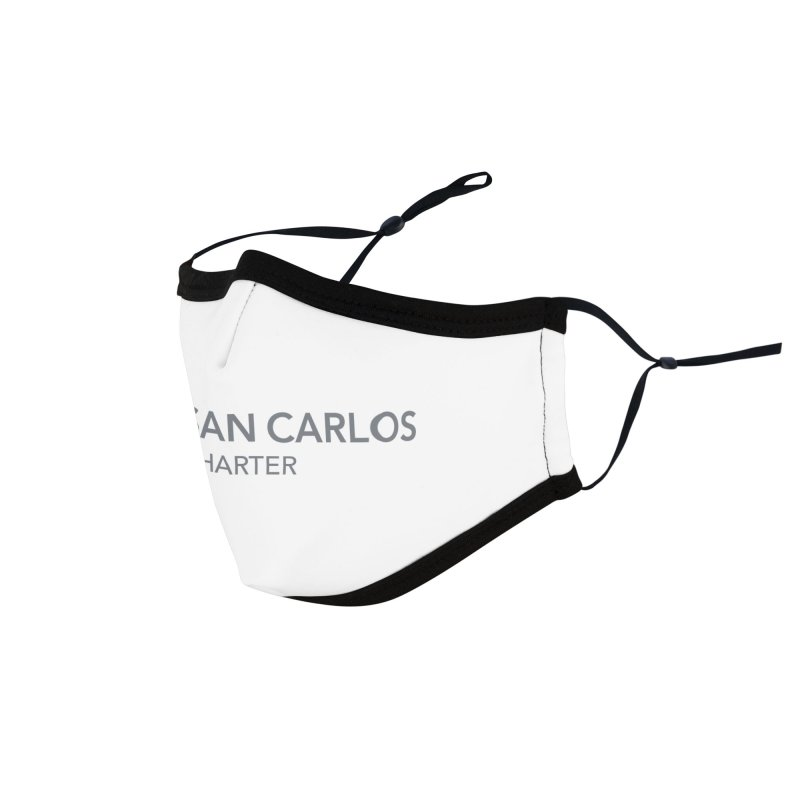 Charter Logo Horizontal Accessories Face Mask by San Carlos Charter Spirit Store