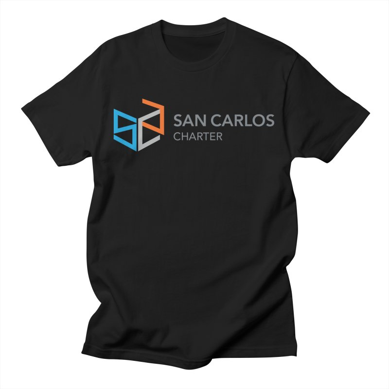 Charter Logo Horizontal Men's T-Shirt by San Carlos Charter Spirit Store