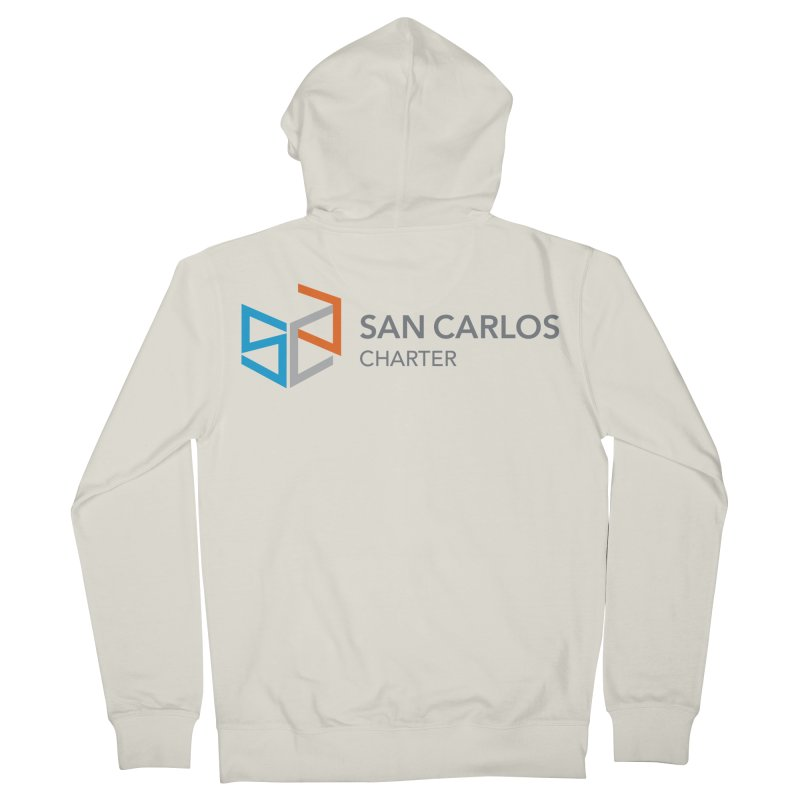 Charter Logo Horizontal Men's Zip-Up Hoody by San Carlos Charter Spirit Store