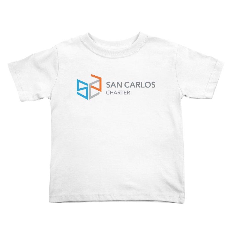 Charter Logo Horizontal Kids Toddler T-Shirt by San Carlos Charter Spirit Store